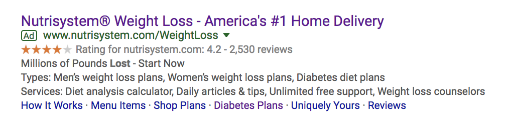 Google Search Ad Headline