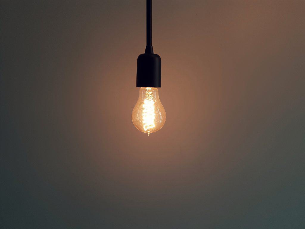 """This is an image of a light bulb to reflect the """"light going on"""" when someone has an """"a-ha"""" moment after reading the post about Google ads."""